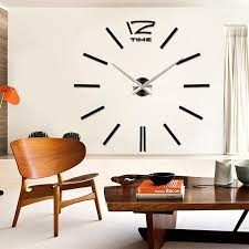 whole luxury large number wall clock modern diy 3d mirror sticker home decor art wall clocks small wall clocks to from copy02 19 0 dhgate com