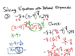solving equations with fractional exponents jennarocca