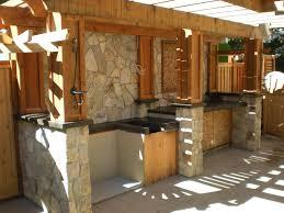 Rustic Outdoor Kitchens Rustic Kitchen Countertop Materials Cliff Kitchen