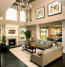 Great Room Breaking Up A Two Story Wall Two Story Family Room Pinterest