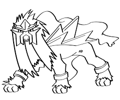 Small Picture Pokemon Entei AZ Coloriage