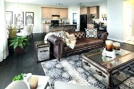 Grey walls brown furniture Floor Carpet Rachelrossi Metallic Details In Room By Restoration Hardware Furniture For