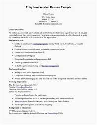 Resume For Entry Level Custom Resume Entry Level Entry Level Accounting Resume Sample