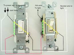 how to wire light with two switches facbooik com How To Wire A Light With Two Switches Switch Diagram how to wire two switches to one light