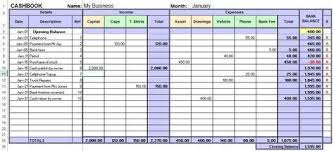 Excel Templates For Small Business Bookkeeping Excel Cash Book For Easy Bookkeeping Bookkeeping Business