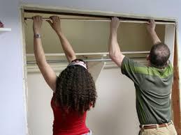 Closet Door Makeover Best Sliding Door Curtains On Replace Sliding ...