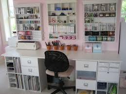 Organised Bedroom Work Space Scrapbookcom Great Craft Studio Totally Organized