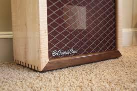 Custom Guitar Speaker Cabinets Flame Maple Walnut 112 B Custom Cabs