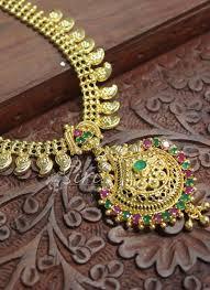 Mango Design Gold Chain Micro Polish Gold Plated Necklace In Mango Design Chain