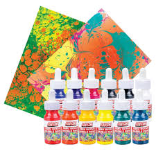 artdeco marbling paints