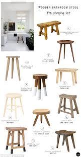10 BEST: Wooden bathroom stools