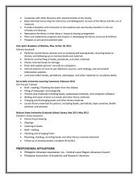 Library Assistant Resume Sevte