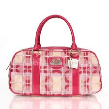 New Arrival Coach Fashion Poppy Medium Pink Satchels CDU clearance