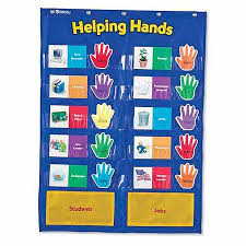 Where To Buy Pocket Charts Sale Learning Resources Helping Hands Pocket Chart