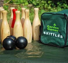 Game Of Skittles Wooden Wooden Skittles Garden Skittles Set Big Game Hunters 85