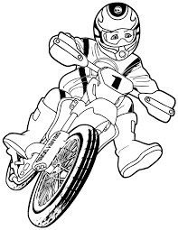 Small Picture Free Transportation Motorcycle Colouring Pages For Kindergarten