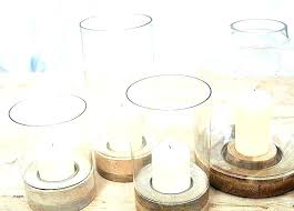 large glass hurricane candle holders holder floor standing