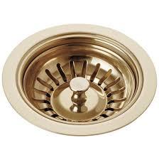 Kitchen Sink Drains Basket Strainers Brass Tones Sps Companies