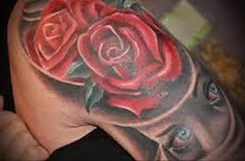 Tetování Na Stehně Ze Strany Tetování Pro Dívky Pěšky Fotografie A