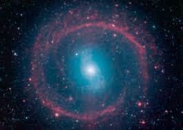 Galaxy Orbit Light Show Galactic Wheel Of Life Shines In Infrared Nasa
