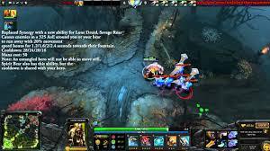 dota 2 patch 6 86 lone druid new ability savage roar youtube
