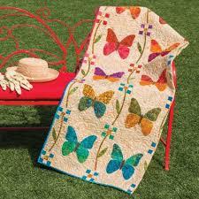GO! Butterfly Patch Quilt Pattern by Edyta Sitar  AccuQuilt  & Butterfly Patch Quilt Pattern by Edyta Sitar (LBQ-10500) Adamdwight.com