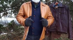 vintage northwestern deerhide jacket deerskin leather