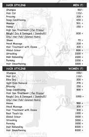 Lakme Salon Price Chart Hair Saloon For Men Prices Family Photographers Kansas City