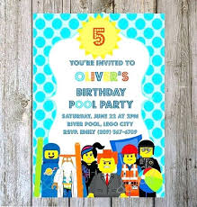 Print Out Birthday Invitations Impressive Beach Birthday Invitations Amazing Printable Summer Pool Party Beach