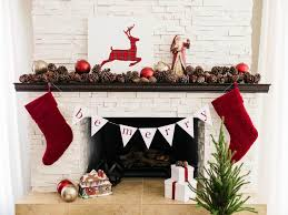 16 pinecones rustic fireplace decor