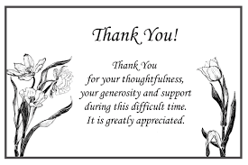 Thank You Black And White Printable Thank You Card Clipart Black And White
