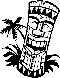 Small Picture Hawaiian Tiki Mask Coloring Page Coloring Home