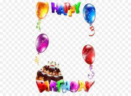 birthday cake picture frame clip art happy birthday frame