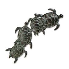 13 images of outdoor metal turtle wall art