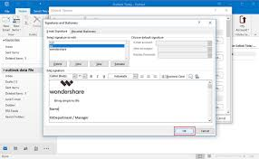 Add Logo To Email Signature In Outlook