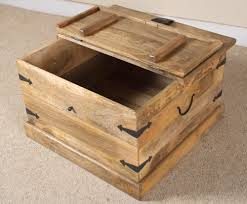 furniture square trunk coffee table large square chest coffee