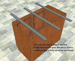 how to support granite countertop overhang countertop overhang coloringsbooksclub
