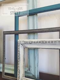 repurposing frames display your photos in painted frames diy picture frame collage diy