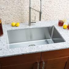Hahn Chef Series 30 L X 18 W Single Bowl Undermount Kitchen Sink