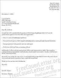 Bookkeeper Cover Letter - East.keywesthideaways.co