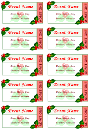 Lunch Ticket Template Simple 48 Free Event Ticket Templates For Word Make Your Own Tickets