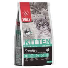 <b>Корм Blitz</b> Sensitive Kitten для котят, беременных и кормящих ...