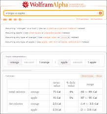 enter a type of food and wolfram alpha will provide you with its nutrition information you don t have to stop at one enter multiple types of food and