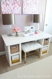 DIY Sewing Desk