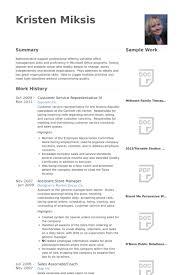 skills of customer service representative customer service representative resume samples visualcv resume