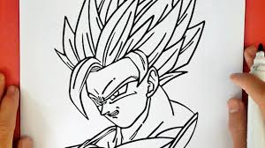 Comment Dessiner Goku Super Saiyan 2 De Dragon Ball Z Youtube