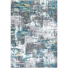 distressed abstract teal grey area rug and yellow rugs designs nice ideas turquoise and gray area rug teal grey