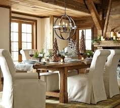 medium image for restoration hardware orbit chandelier rustic pottery barn kitchen table tables amp chairs kitchen