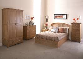 Ottoman Bedroom Furniture Gfw Madrid Wooden Ottoman Bed Frame In Oak Beds Direct Warehouse