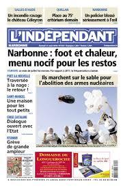 l indépendant on twitter les unes de narbonne lindep carca lindep et lindep perpi du samedi 11 août 2018 carcassonne narbonne perpignan